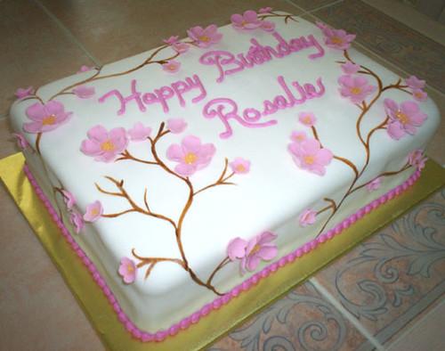 Cake For Grandmas Birthday