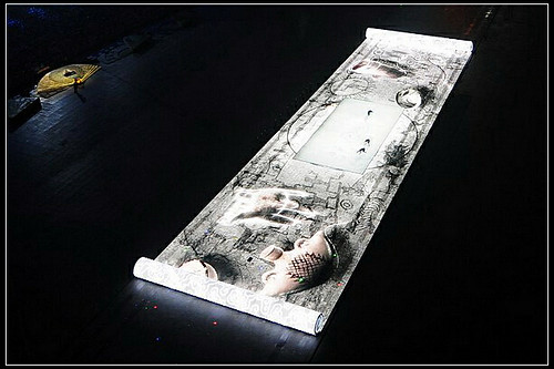 Beijing Opening ceremony scroll