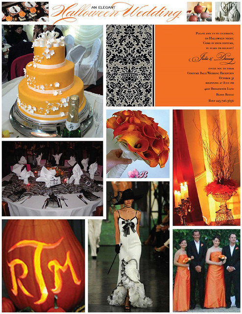 Another Halloween Wedding Inspiration Board