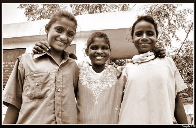 The smiling trinity - முப்பெரும் தேவியர்