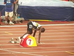 modern pentathlon(0.0), obstacle race(0.0), triple jump(0.0), 100 metres hurdles(0.0), 4 㗠100 metres relay(0.0), hurdle(0.0), high jump(0.0), physical exercise(0.0), hurdling(0.0), sprint(1.0), athletics(1.0), track and field athletics(1.0), 110 metres hurdles(1.0), championship(1.0), sports(1.0), 800 metres(1.0), heptathlon(1.0), athlete(1.0),