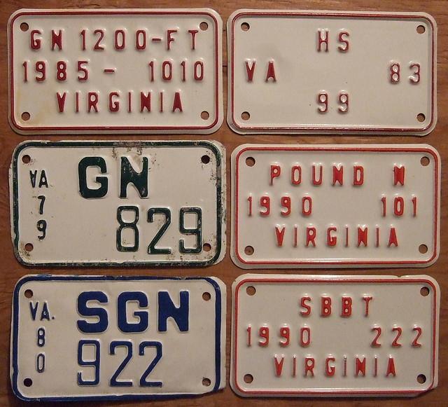 Virginia fishing boat plate types 2 flickr photo sharing for Virginia fishing license