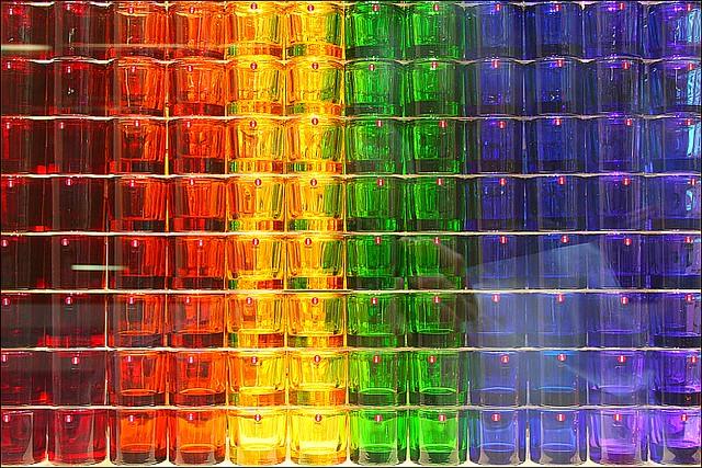 Vasos de colores Iittala