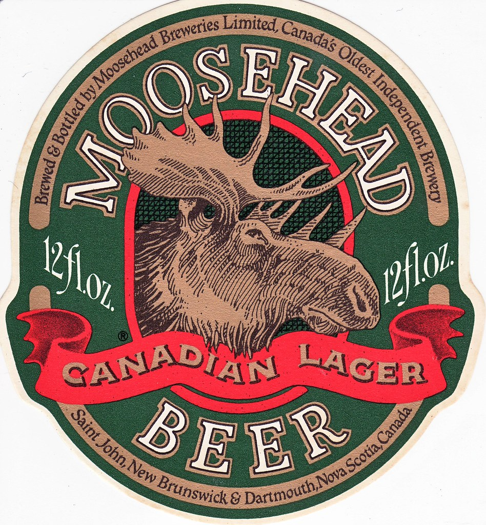 Moosehead lager a photo on flickriver for Beer logo creator
