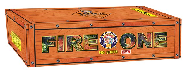 Epic Fireworks - Fire One - 98 Shot Finale Barrage