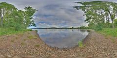 LochInsh: Beach 3 Loch Insh Scotland Equirectangular