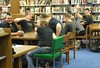 teens in the library May 2008
