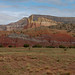 Chimney Rock from the Painted Desert