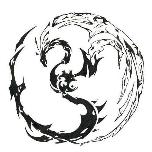 Dragon Phoneix Tattoo