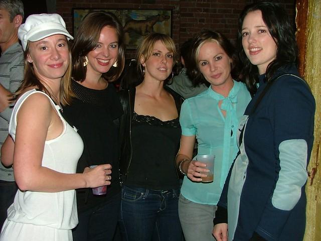 Digg Meetup SF with @Ang, @Daisy, and @Tara. Photo diggdotcom, November 19, 2008.