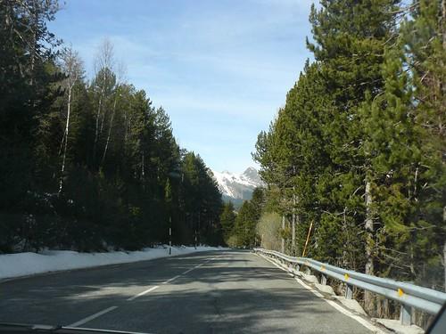 Carretera de Canillo a Ordino