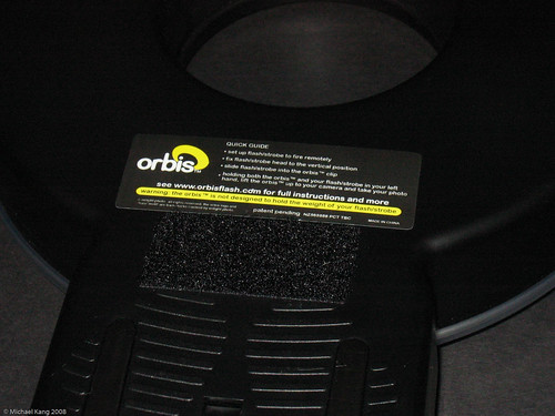 DIY Orbis™ bracket - detail of the back of the Orbis
