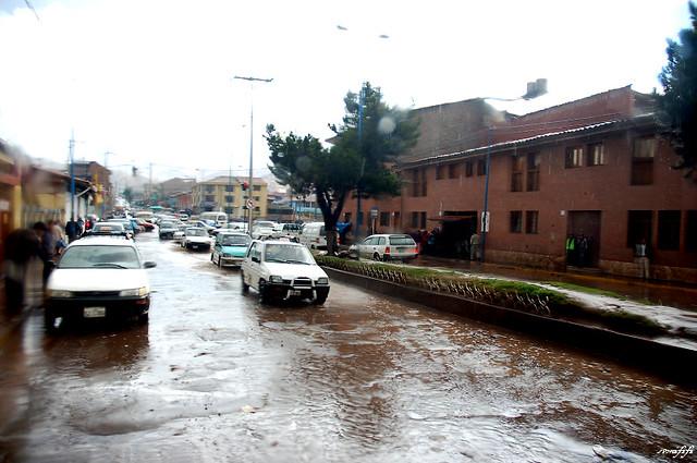 Cuzco 大雨後
