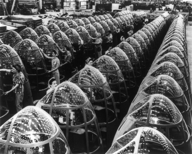 Alfred Palmer: Production of A-20 attack bombers, Long Beach, California, 1942