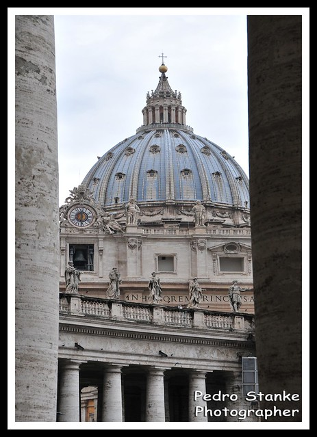 Dome of the Vatican - Rome, Italy