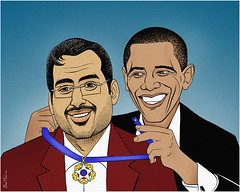 Muntadar Al-Zaidi Awarded the US Medal of Freedom by Barack Obama :D