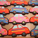Cars Cookies by irresistibledesserts