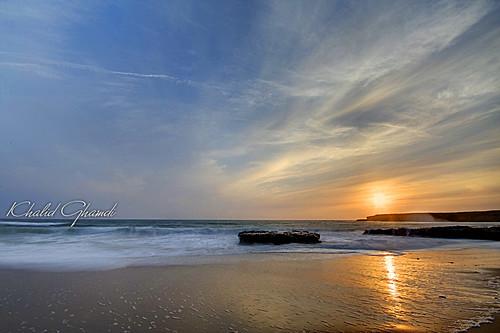 ocean california santa longexposure sunset night landscape cruz khalid غروب anawesomeshot vosplusbellesphotos ghamdi