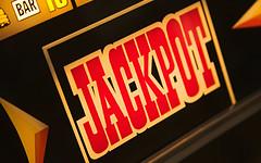 jackpot sign