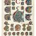 003-Letra C-Owen Jones Alphabet 1864- Copyright © 2010 Panteek.  All Rights Reserved