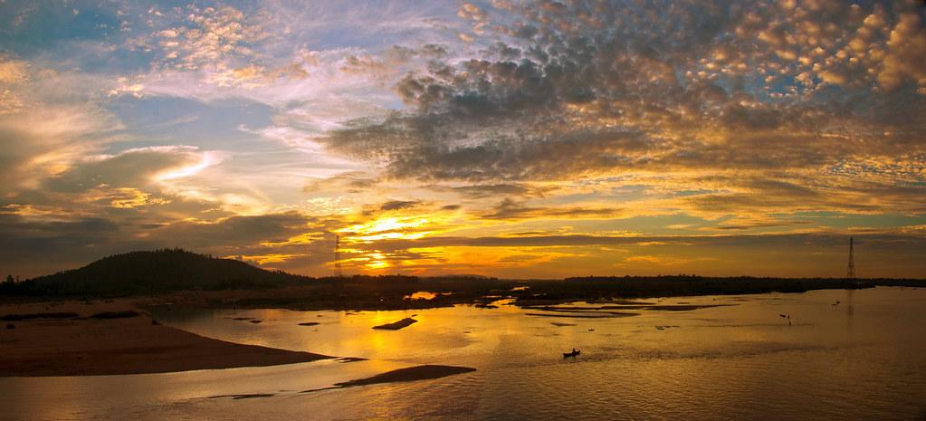 Bình minh sông Trà - Quảng Ngãi