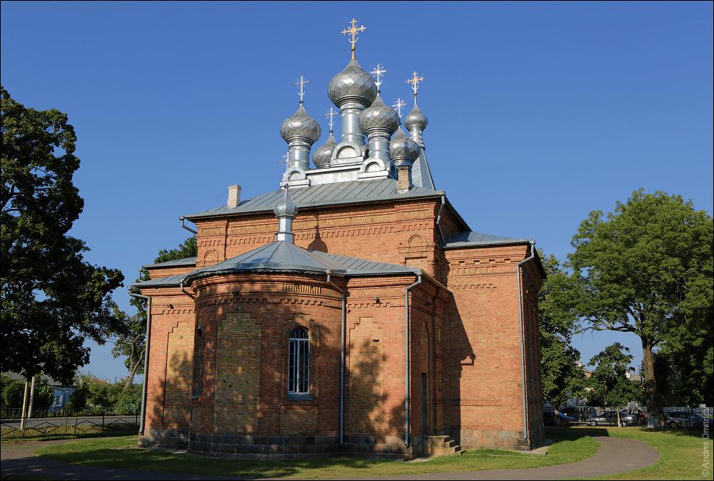 Лунинец, Церковь Крестовоздвиженская