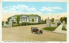 Main Entrance Duke, ca. 1925
