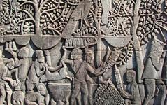 Bas-relief du Bayon (Angkor Thom)
