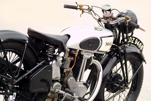 © Bernhard Egger All kinds of commercial usage are prohibited ! Norton vintage motorcycle :: eu-moto images