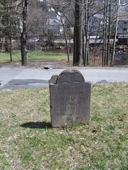 Catharine Martlings's headstone