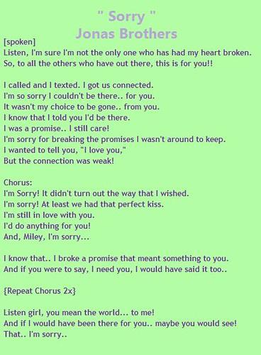 screenwriting an apology chords and lyrics
