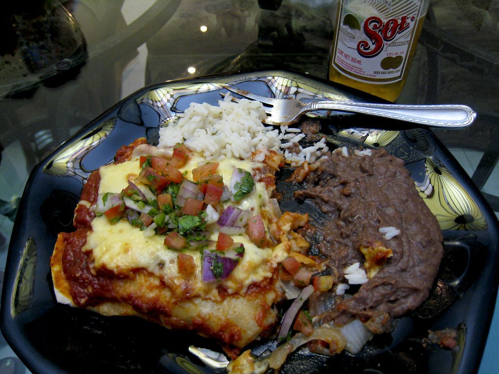 homemade mexican food in mexico