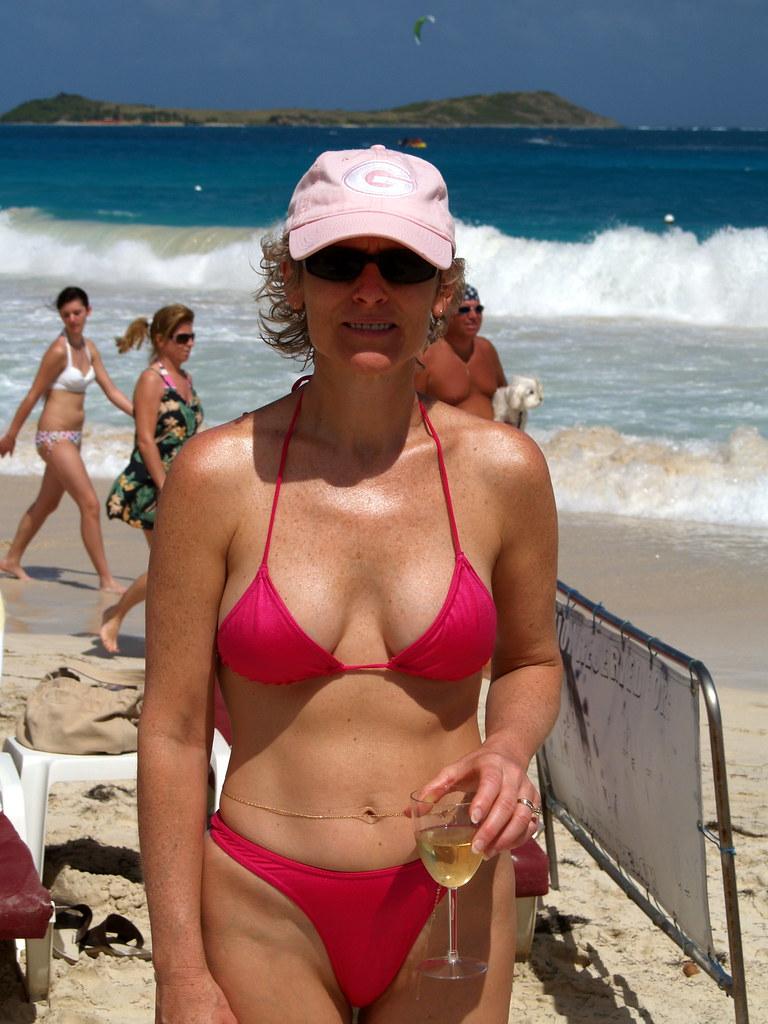 orient beach String bikini at