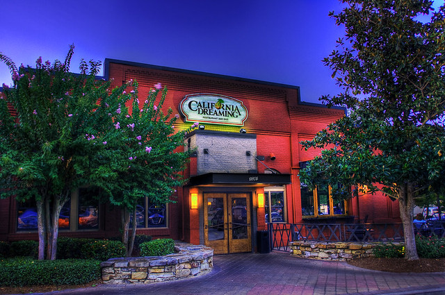 California Dreaming Restaurant Augusta Ga