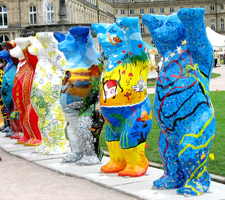Living together in Peace and Harmony - United Buddy Bears in Stuttgart, Germany
