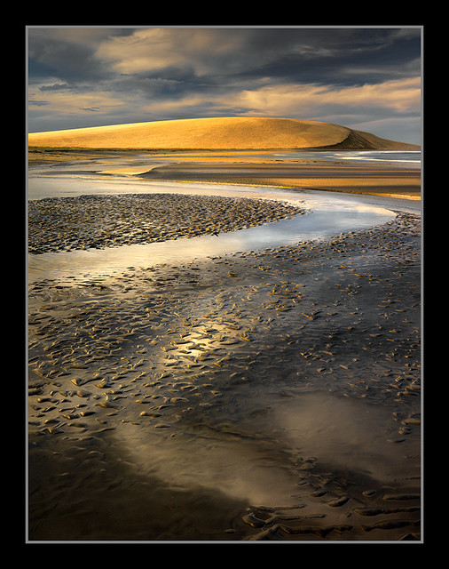 Monochrome Coast By Michael Anderson