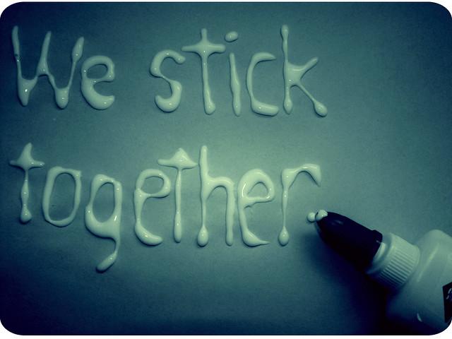 sticking together essay