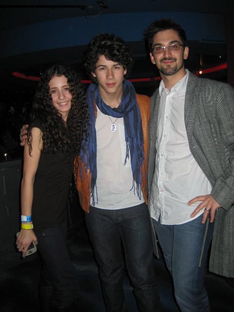 Nick Jonas and PJ bianco
