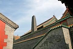 沈阳故宫的大烟囱