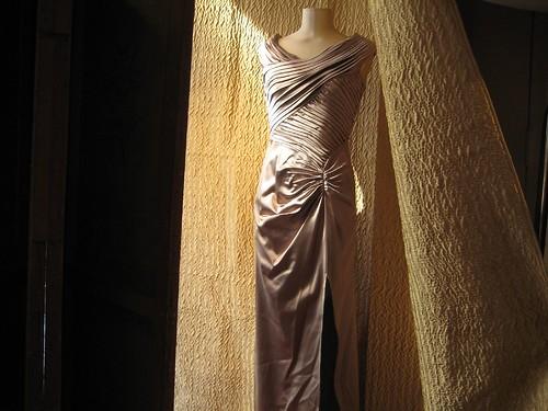 Tadashi Dark Champagne Dress