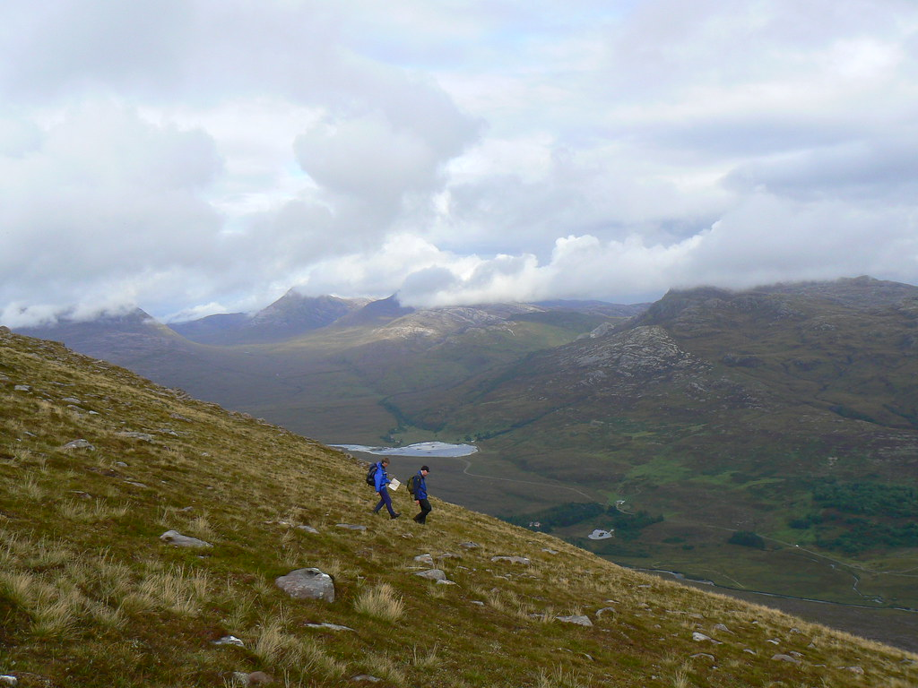 Descent of Beinn Bhan