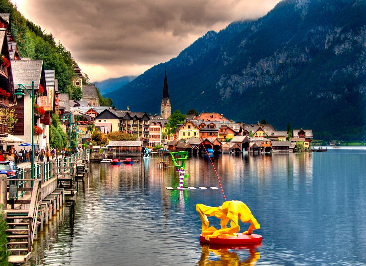 Hallstatt Austria Flickr Photo Sharing
