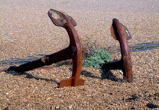 Anchor In Sand image