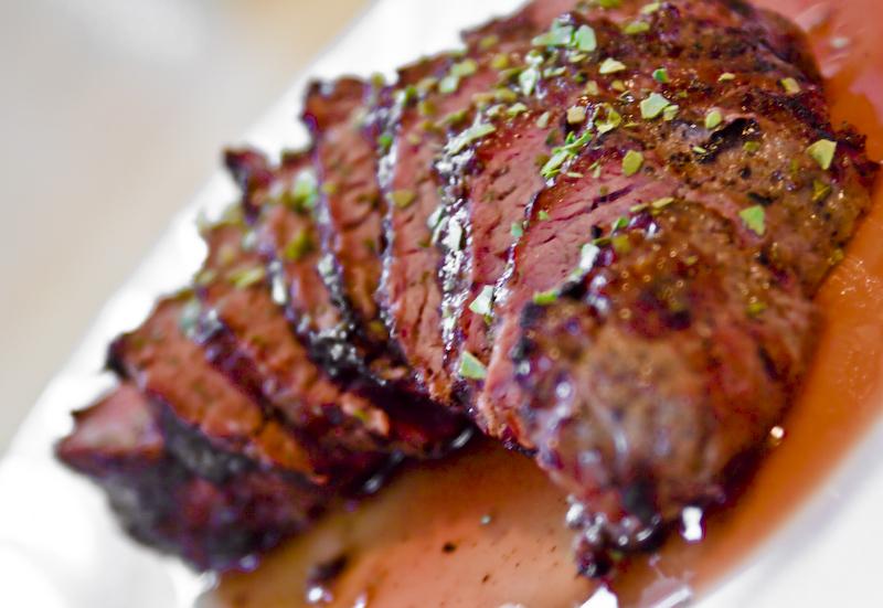 Peppercorn Beef Shoulder Filet Steak | Flickr - Photo Sharing!