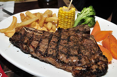 steak, roasting, grilling, barbecue, carne asada, rib eye steak, meat, sirloin steak, steak frites, food, dish, meat chop, cuisine, cooking, lamb and mutton,