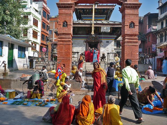 Durbar-Square-Kathmandu by CC user lavenderstreak on Flickr