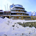 L'Hotel Shackleton Mountain Resort al mattino