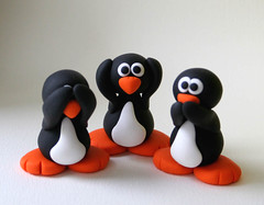 Upgraded See No Evil Penguins