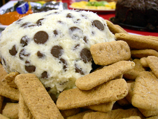Chocolate chip cream cheese ball | Flickr - Photo Sharing!