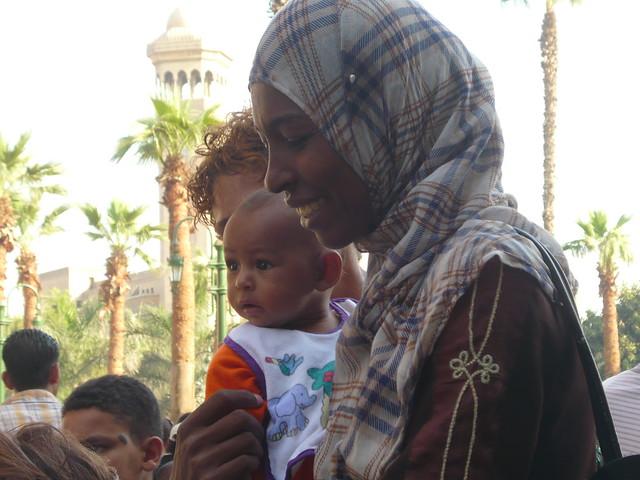 Beggar in Egypt